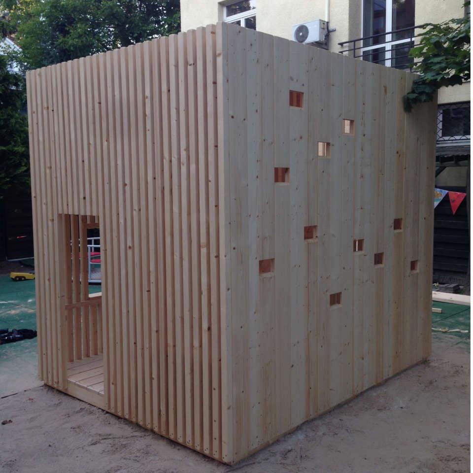 domek drewniany warszawa
