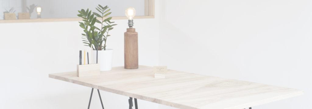 Baner stolarnai stół drewniany deski Warszawa